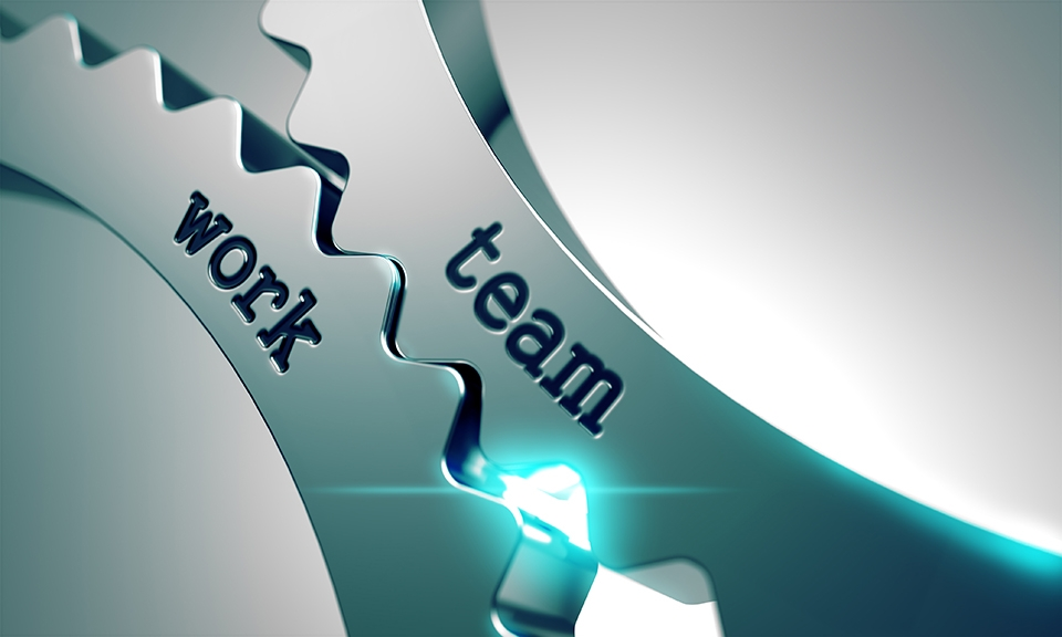 Teamwork – The key to working together effectively and efficiently…