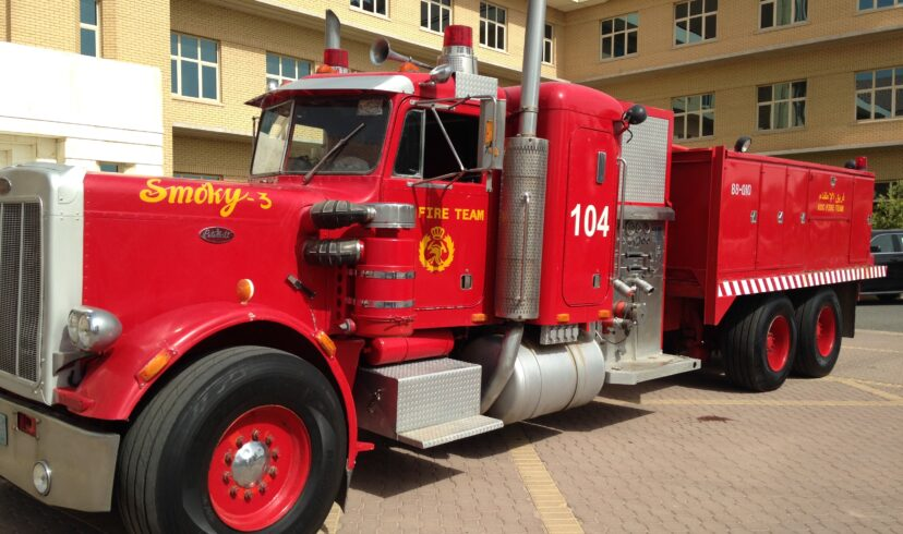Smokey Fire Trucks still going strong in Kuwait 25 years after the Oil Field Fires